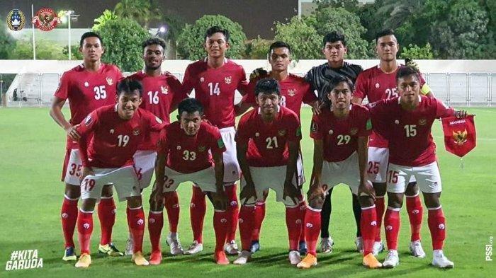 Timnas Indonesia Kalah Tipis Dari Afghanistan, Skor 2-3 Laga Uji Coba Kualifikasi Piala Dunia 2022