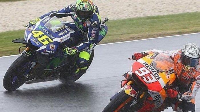 Marc Marquez Membeberkan Strategi Valentino Rossi, Jatuhkan Mental Lawan dan Perang Urat Syaraf