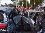 Pajero Sport Berpelat Nomor Palsu Dikendarai Oknum Perwira Polisi, Tabrak Mobil di Parkiran