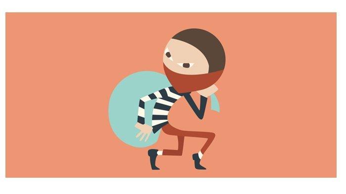 Viral! Warung Bakso Dibobol, Pencuri Sempat Masak Mie Ayam dan Mandi Lalu Bawa Kabur Pentol