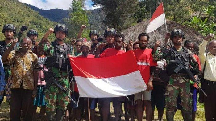 Anggota dan Simpatisan Pimpinan Purom Wenda Menyerahkan Diri, Mengaku Bergabung KKB karena Diancam