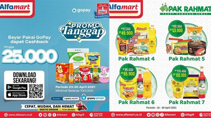 17 Promo Alfamart hingga 30 April 2021, Paket Hemat Minyak Goreng, Beras, Mie, Sirup Rp 40 Ribuan