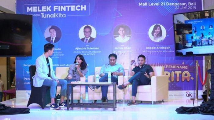 TunaiKita: Jumlah Pinjaman yang Dicairkan Naik 400 Persen, Begini Cara Sosialisasi Findtech di Bali