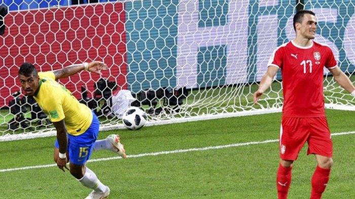 Sempat Ketar-ketir dan Was-was, Timnas Brasil Sukses Amankan Tiket 16 Besar Menantang Meksiko