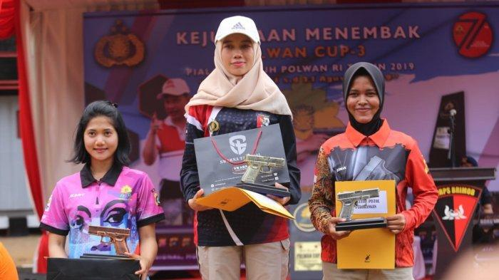 3 Polwan Polda Bali Raih Medali Emas & Perunggu di Kejuaran Menembak Nasional