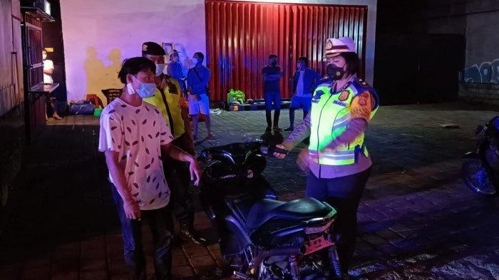 Antisipasi Trek-trekan, Personel Gabungan Polresta Denpasar Amankan 3 Sepeda Motor Tak Berstandar