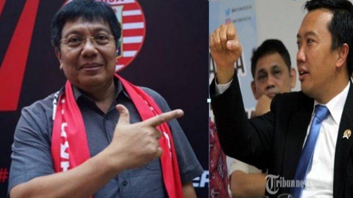 Anak Menpora Dipukul Oknum Fan Persija, Direktur Utama Macan Kemayoran Minta Maaf