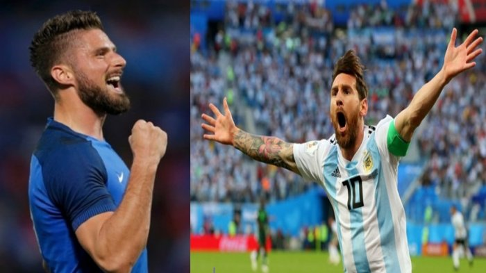 Susunan Pemain Prancis Vs Argentina - Albiceleste Andalakan Messi sebagai Pemain False 9
