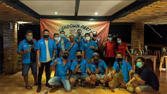 Sundown Party Jadi Tema 3rd Anniversary HR-V Club Indonesia Chapter Bali