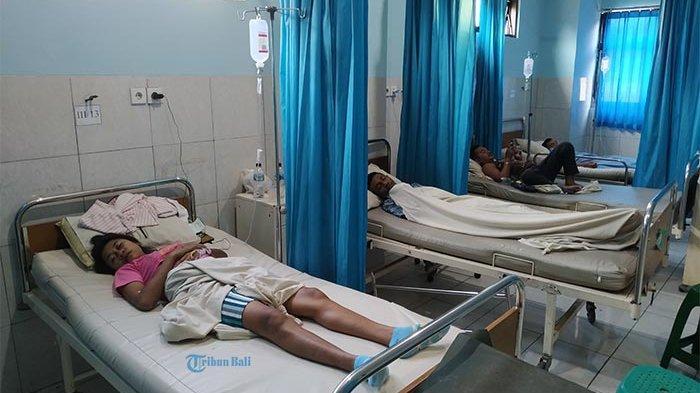 BREAKING NEWS - Suspect Rabies, 5 Warga Kupang Dirawat Intensif di RSUD Klungkung