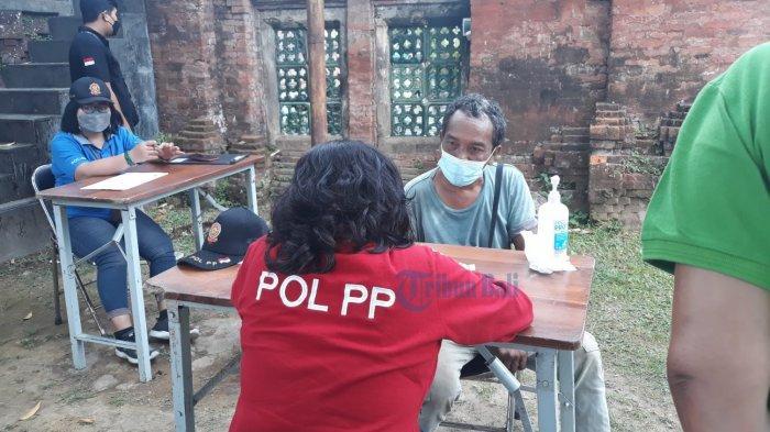 7 Pelanggar Masker Terjaring di Kelurahan Kesiman Denpasar, 3 Orang Didenda