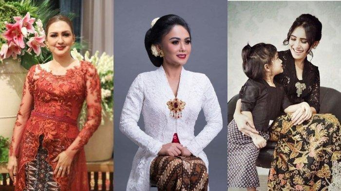 Hari Kartini, Intip 8 Potret Deretan Artis Kenakan Kebaya, Termasuk Yuni Shara dan Ayu Ting Ting