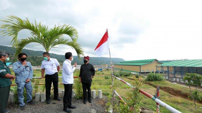 Progres Capai 93 Persen, Bupati Banyuwangi Cek Pembangunan Pabrik Kereta