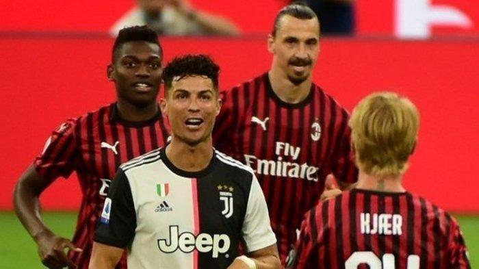 Jadwal Liga Italia Malam Ini, Inter Milan vs AC Milan, Ronaldo Absen Bela Juventus