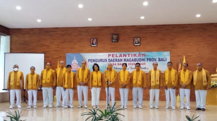 Berlandaskan Prinsip 5M, 11 Pengurus Baru Magabudhi Provinsi Bali Dilantik Hari Ini
