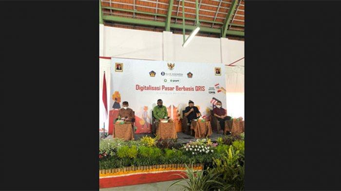Pasar Banyuasri di Buleleng Diresmikan Sebagai Kawasan Pasar Tradisional Digital Berbasis QRIS
