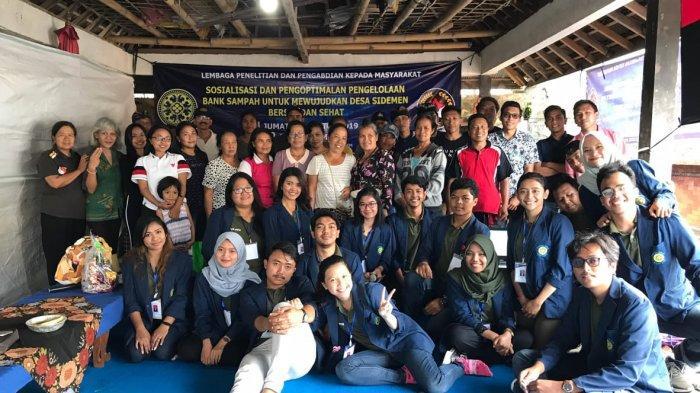 Inovasi Tong Sampah Biopori dari KKN-RM Unud untuk Desa Sidemen, Upaya Mengatasi Masalah Sampah