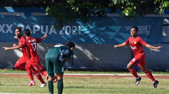 Aceh Singkirkan Jawa Timur di Babak Semifinal Sepak bola Putra PON Papua