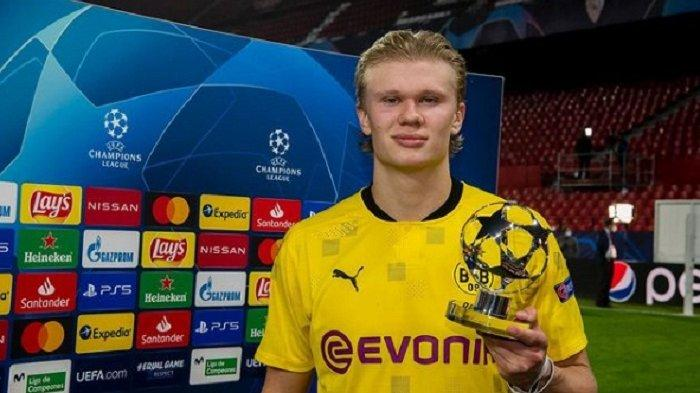 Tinggalkan Borussia Dortmund, Erling Haaland Nyatakan Niat Bergabung dengan Real Madrid