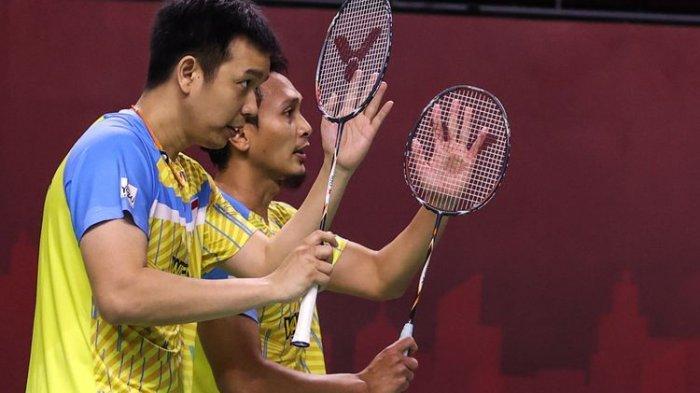 Ahsan/Hendra Kalah dari Lee Yang/Wang Chi-lin di Final BWF World Tour Finals 2020