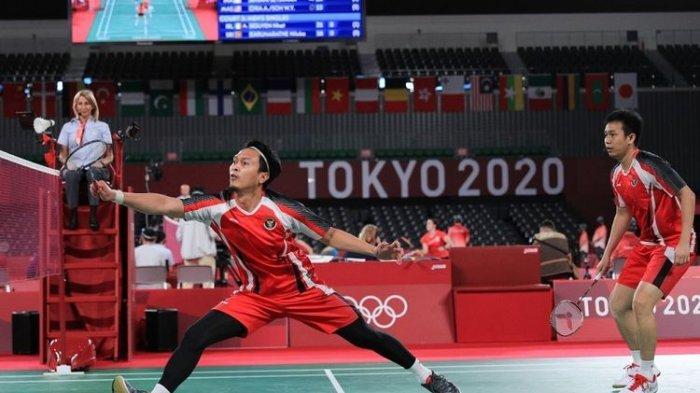 Hasil Bulu Tangkis Olimpiade Tokyo 2020: Ahsan/Hendra Melaju ke Semifinal Usai Kalahkan Tuan Rumah