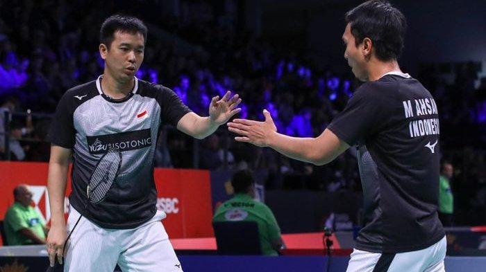 Mohammad Ahsan/Hendra Setiawan Tampil Ciamik, Menang Dua Gim Langsung dan Kantongi Tiket Final BWF