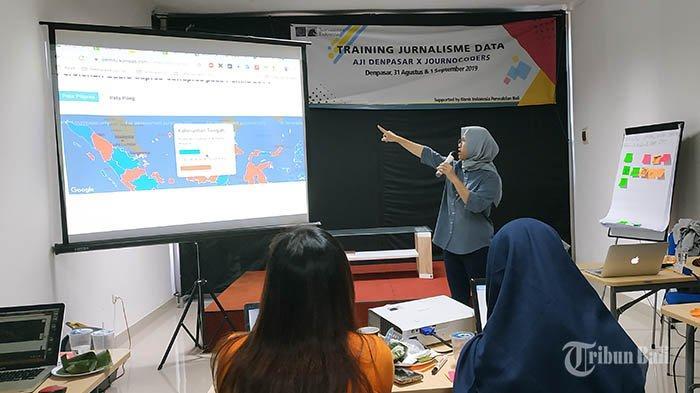 Bekali Wartawan Skill Analisis Data, AJI Denpasar Gelar Pelatihan Jurnalisme Data