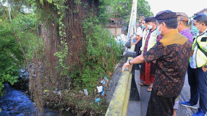 Pasca Banjir, Hari Ini Akan Dilakukan Pengerukan di Sungai Candi Gara Klungkung