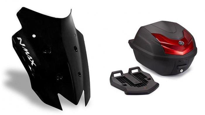 Aksesoris dari Yamaha Ini Cocok Buat Konsumen All New NMAX 155 yang Doyan Touring
