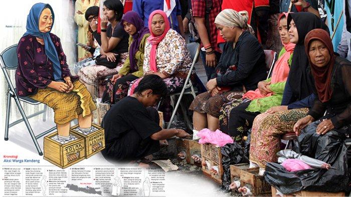Menyedihkan, Petani Wanita Peserta Aksi Cor Kaki Ini Meninggal Dunia, Ini yang Diperjuangkan!