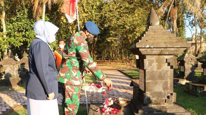 Menyambut Hari Bakti TNI AU ke-74, Lanud I Gusti Ngurah Rai Ziarah ke TMP Margarana Tabanan