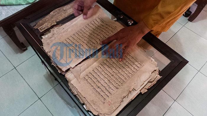 Al Quran dari Abad ke 17 Jadi Bukti Sejarah Panjang Masyarakat Bugis di Pulau Serangan Bali