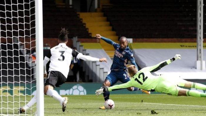 Arsenal Unggul 1-0 Atas Fulham di Babak Pertama