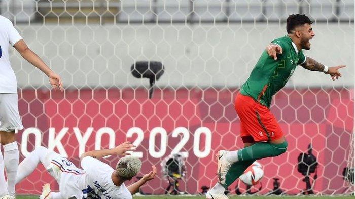 Hasil Bola Olimpiade, Meksiko Gilas Prancis 4-1 pada Laga Perdana Grup A
