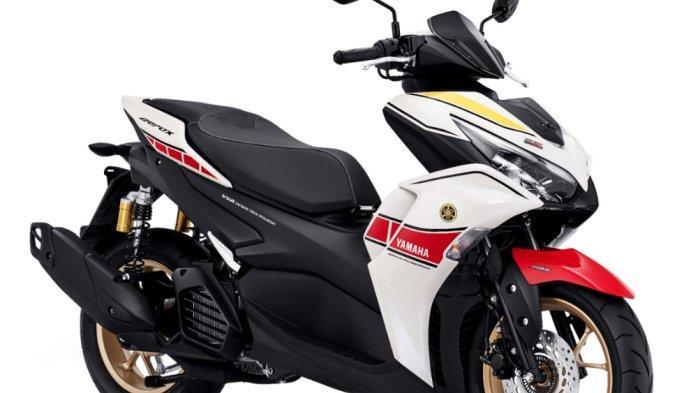 Livery Baru All New Aerox 155 Connected ABS, Simbol 6 Dekade Kejayaan Yamaha di Balap Dunia