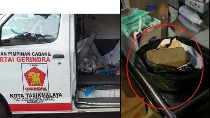 Terungkap, Ini Pengakuan Sopir AmbulansLogo Gerindra yang Diamankan Polisi, Diperintah Sosok ini