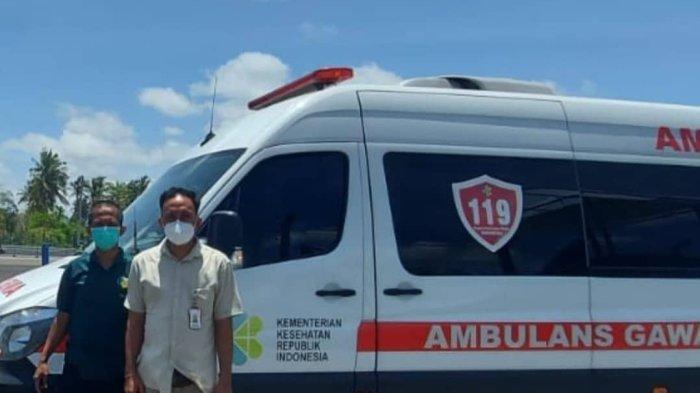 RSUP Sanglah Denpasar Kirimkan 1 Ambulance Untuk Sirkuit Mandalika Lombok