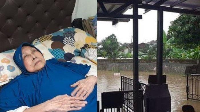 Rumahnya Kebanjiran, Aminah Cenderakasih Alias Mak Nyak Dalam Keadaan Sakit Dievakuasi Rano Karno