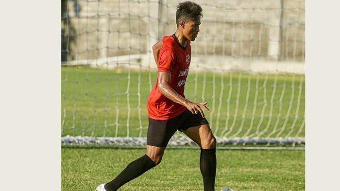 Pulih dari Cedera, Pemain Bali United Andhika Wijaya Kini Kembali ke Lapangan Hijau