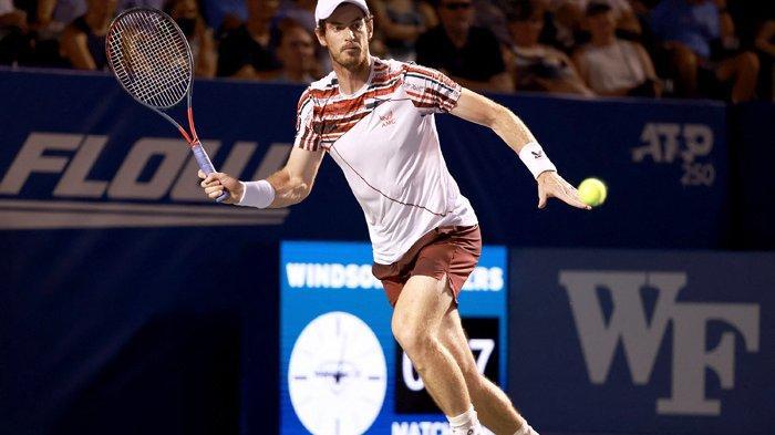 Langkah Andy Murray Terhenti di Babak Kedua Turnamen ATP Winston-Salem Open