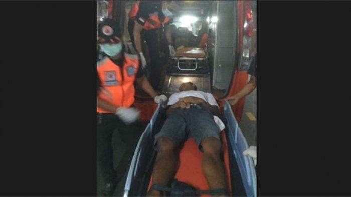 Diduga Karena Pengaruh Alkohol, Pemuda Ini Alami Kecelakaan di Jalan Sidakarya Denpasar