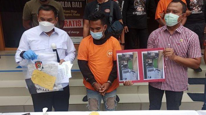 Gagal Bobol ATM di Canggu, FDB Berpura-pura Gila, Kini Mendekam di Sel Tahanan Polda Bali