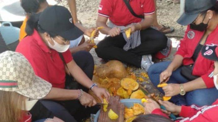 Sosok Diah Werdhi Srikandi dan Cerita DPRD Bali Jadi Relawan Bencana NTT, Masak Pakai Kayu Bakar