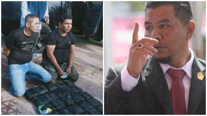 Oknum Anggota DPRD Berlutut di Depan Barang Bukti, Sepak Terjangnya Bikin Geleng Kepala