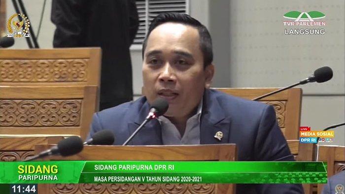 Bicara di Rapat Paripurna DPR RI, Putu Supadma Rudana: Saya Tidak Mau Masyarakat Bali Hanya di PHP