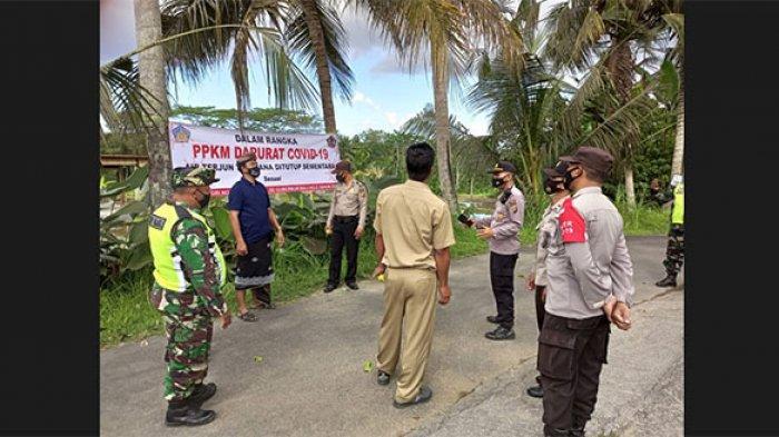 PPKM Darurat, Objek Wisata di Bangli Tutup, Warga Hendak berwisata ke Kintamani Diminta Putar Balik