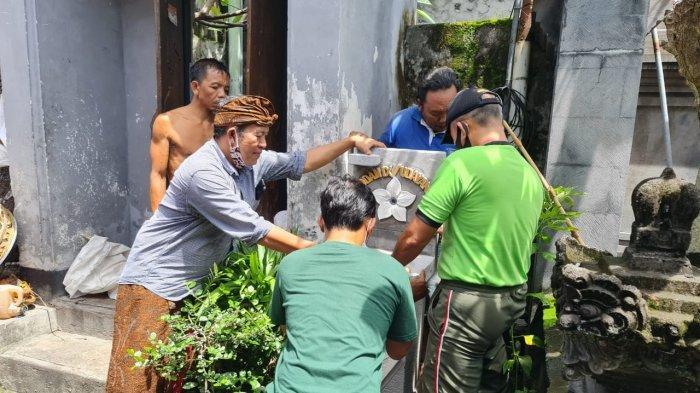 Pangdam IX/Udayana Kerahkan Jajaran TNI di Bali Pasang Puluhan Wastafel