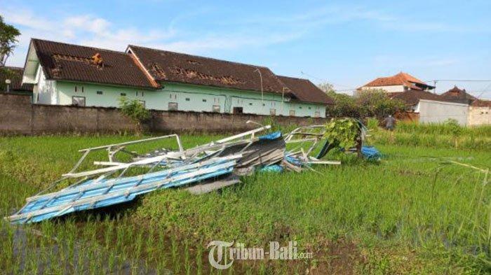 Angin Puting Beliung di Klungkung Bali Tidak Berkaitan Siklon Tropis Seroja