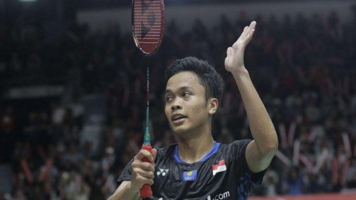 Hasil Thailand Open 2021, Anthony Ginting Lolos ke Babak Perempat Final