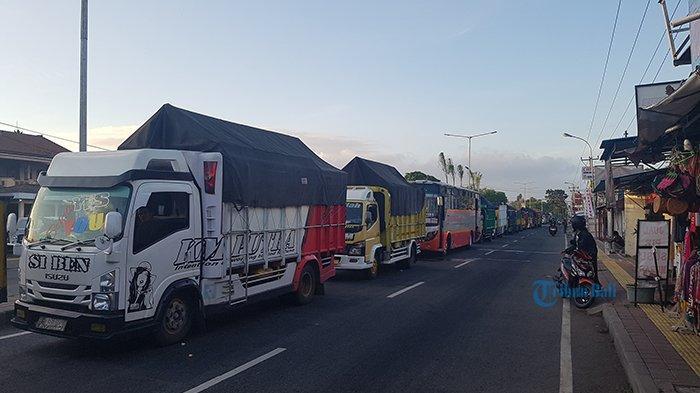 Antrean 3 Km di Jalur ke Gilimanuk, Eko Takut Dimarahi Bos Karena Terlambat Kirim Jeruk ke Jakarta